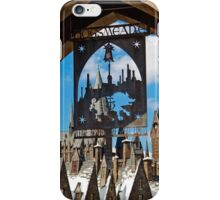Hogsmeade: Please Respect The Spell Limits iPhone Case/Skin