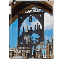 Hogsmeade: Please Respect The Spell Limits iPad Case/Skin