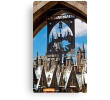 Hogsmeade: Please Respect The Spell Limits Canvas Print