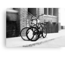 Bicycles #1 Metal Print