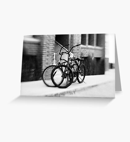 Bicycles #1 Greeting Card