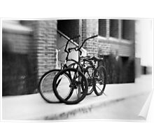 Bicycles #1 Poster