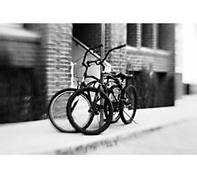 Bicycles #1 Photographic Print