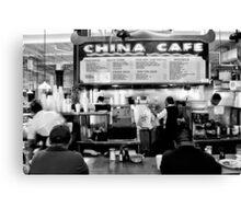 China Cafe Canvas Print