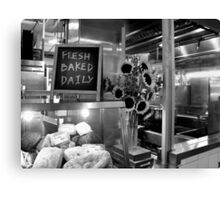 Fresh Baked Daily Canvas Print