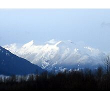 Glaciated Mountain Photographic Print