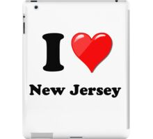 I Love New Jersey iPad Case/Skin