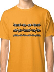 Barbed Wire 2 Design  Classic T-Shirt