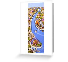 Heart of the landscape Greeting Card