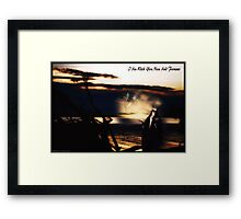 Now & Forever ........... A Collaboration  Framed Print