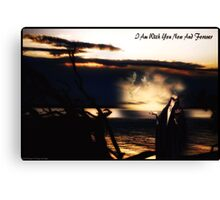Now & Forever ........... A Collaboration  Canvas Print