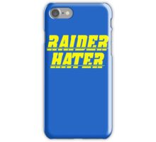 Raider Hater! Bolts iPhone Case/Skin