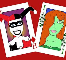 Harley and Ivy by FlyingDreamer