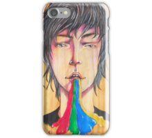 Rainbow puke iPhone Case/Skin