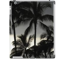 Portfolio: Grey clouds and palm trees, Keauhou, Big island iPad Case/Skin