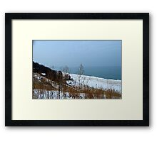 Milwaukee Winter Framed Print