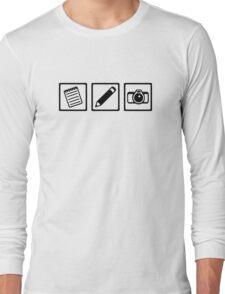 Journalist equipment Long Sleeve T-Shirt