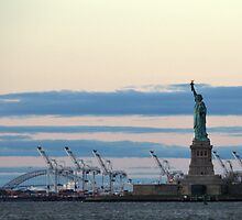 New York Salutes the Dawn by Alisdair Gurney