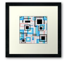 Abstract Squares 13 Framed Print