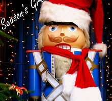 Nutcracker Santa by MEV Photographs