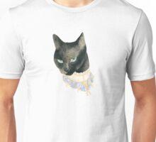 Friday the 13th Pt1: Unlucky Fancy Black Cat Portrait Unisex T-Shirt
