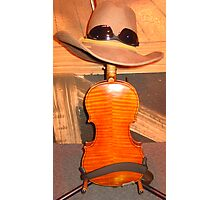 Fiddle in Disguise Photographic Print