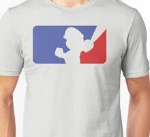 Major League Mario (Transparent) Unisex T-Shirt