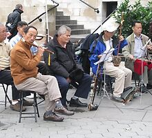 Images of New York: Music in the Streets by Ilanit