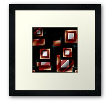 Abstract Squares 8 Framed Print