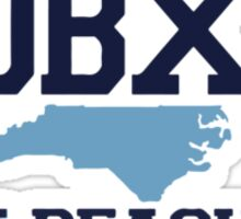 Kure Beach - North Carolina.  Sticker