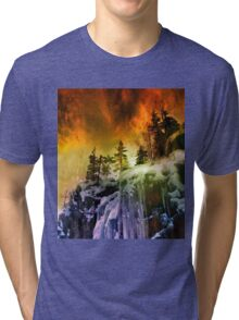 The Sky Was On Fire Tri-blend T-Shirt