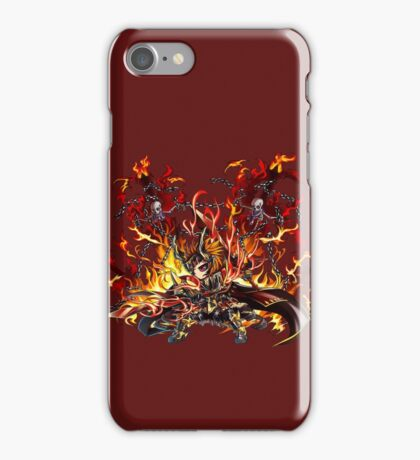 Defiant God Luther iPhone Case/Skin