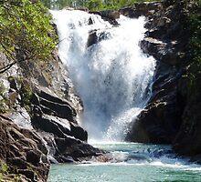 Big Rock Waterfall by Braedene