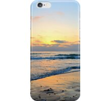 Cardiff Sunset ~ digital paint effect iPhone Case/Skin