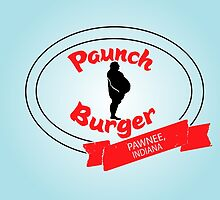 paunch burger, Pawnee, Indiana by chicamarsh1
