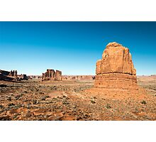 La Sal Mountains Viewpoint – Arches National Park, Utah Photographic Print