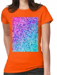 Informel Art Abstract Womens Fitted T-Shirt