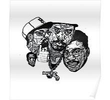 herbie / ice-T / spike-lee / bill cosby Poster