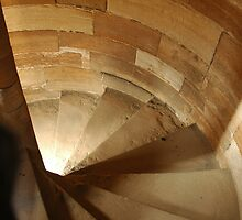 Spiral Stairs in Linlithgow Castle by memphisto
