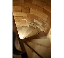 Spiral Stairs in Linlithgow Castle Photographic Print