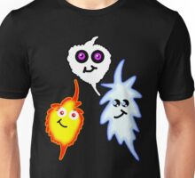 Fire and Ice: Balance and Creation Unisex T-Shirt