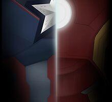 Civil War - Cap vs. Iron Man  by LondonBound