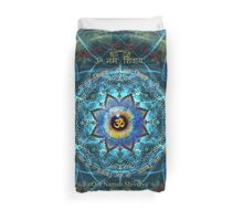 """Om Namah Shivaya"" Mantra- The True Identity- Your self. Duvet Cover"