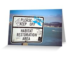 Collective Graffiti Greeting Card