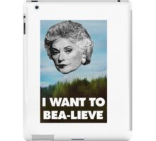 I Want to Bea-lieve iPad Case/Skin