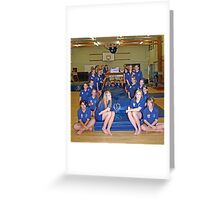 The Blue Falcons Greeting Card