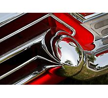 Cadillac Chrome Photographic Print