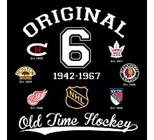 Original Six Photographic Print