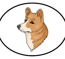 Pembroke Welsh Corgi by kwg2200
