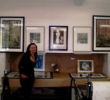 """Billy's Print Room Chisholm End of year 2008 by Belinda """"BillyLee"""" NYE (Printmaker)"""
